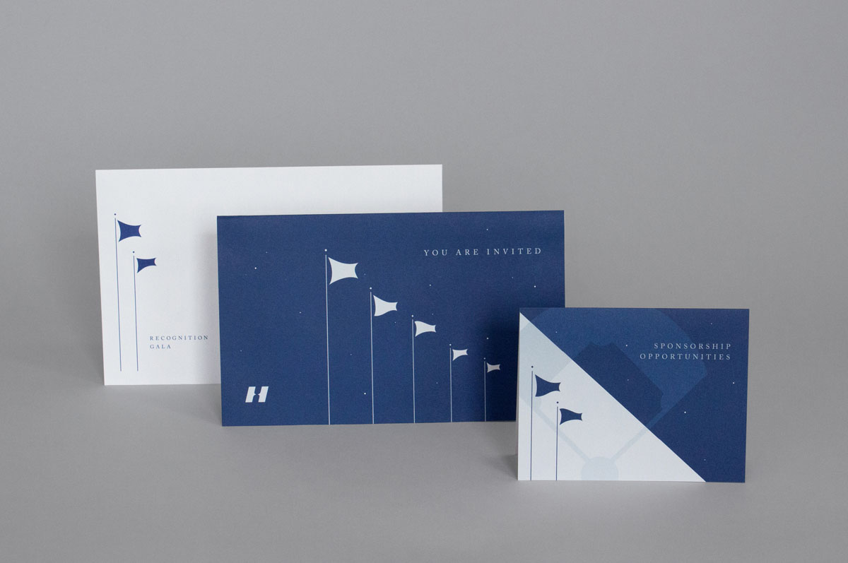 corporate event design branding and invitation