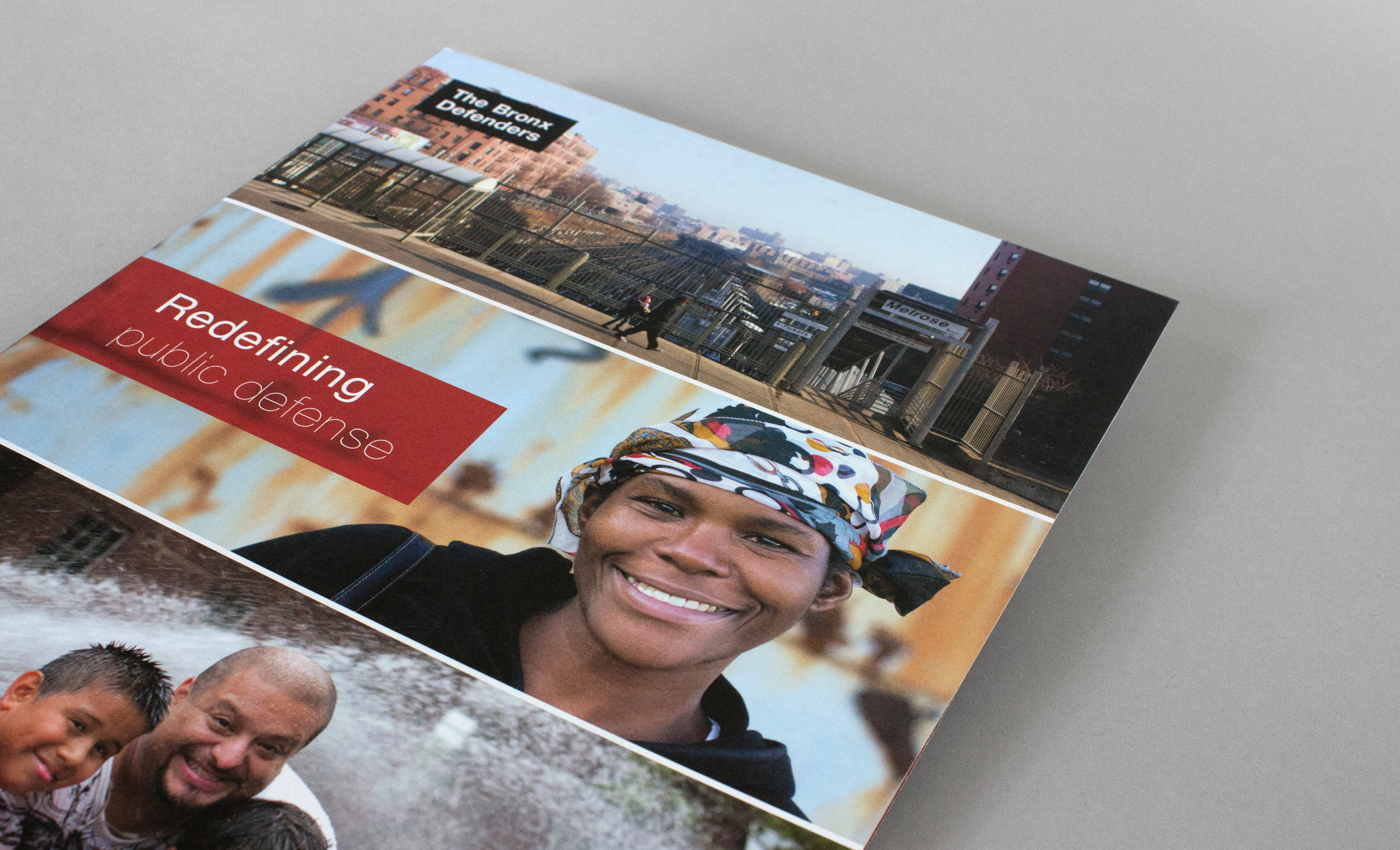 Bronx Defenders Brochure Cover Design